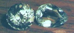 Picture of a stone I have cut, and a foreign-cut stone.